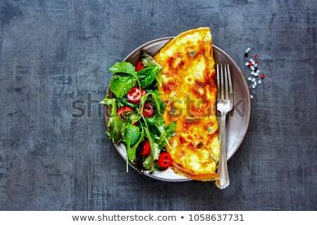 Uovo insalata perfetto uova vegetali fresche Foto d'archivio © Peteer