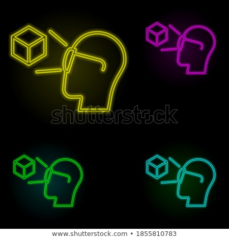 virtual and augmented reality hand drawn outline doodle icon set stock photo © rastudio