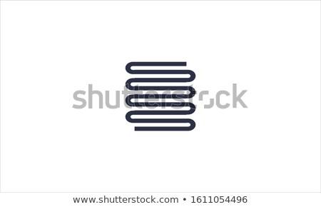 heated towel rail icon stock photo © angelp