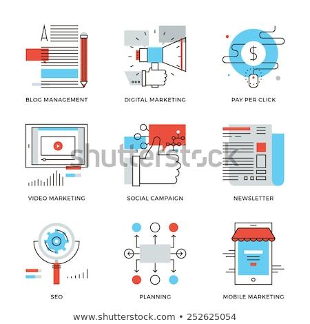 セット · デザイン · アイコン · ビジネス · ウェブサイト · 開発 - ストックフォト © makyzz
