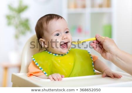 anne · bebek · bebek · bakım · tablo - stok fotoğraf © lopolo