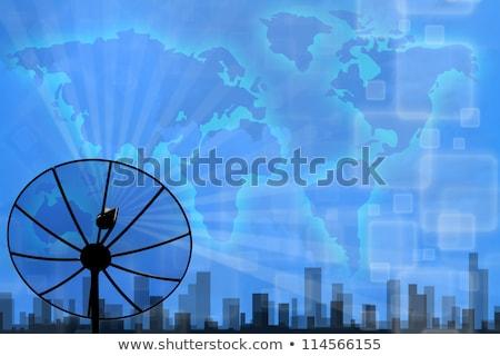 Zellulären Kommunikation digitalen Kabel Web Stock foto © robuart
