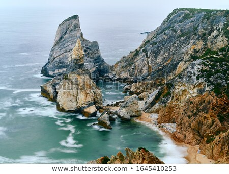 Ursa Beach coastline with rocks stock photo © frimufilms