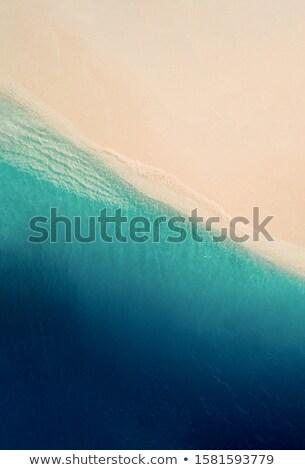 Areia praia mar verão oceano onda Foto stock © winnond