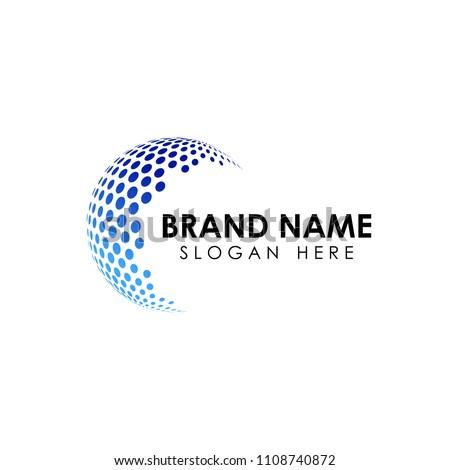 Soyut girdap logo tasarımı vektör logo Stok fotoğraf © kyryloff