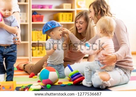 Playgroup in Kindergarten Stock photo © Kzenon