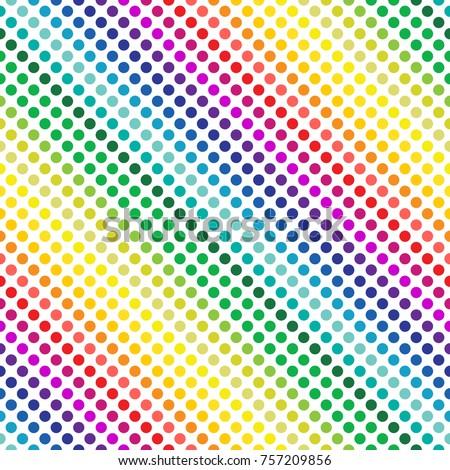 Creative яркий радуга пунктирный фон Сток-фото © ussr