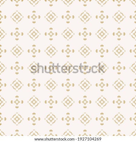 Geometric Ethnic Lattice. Stylish Subtle Texture. Vector Abstract Seamless Pattern. Stock photo © samolevsky