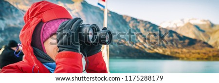 Alaska crucero viaje turísticos ballena viendo Foto stock © Maridav