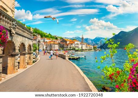 Черногория деревне путешествия архитектура мнение туризма Сток-фото © travelphotography