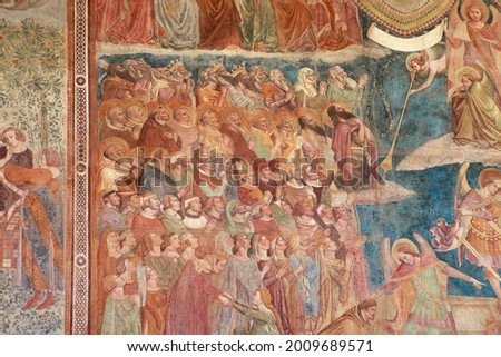 the last judgement   campo santo pisa stock photo © wjarek