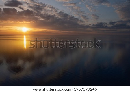 Ocean Sunrise Stock photo © zhekos