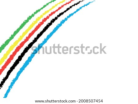Tarka osztályzat olimpiai játékok izolált render fehér Stock fotó © cherezoff