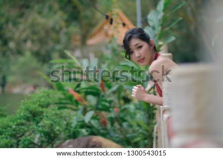 Çin sığ odak ipek bluz yüksek Stok fotoğraf © aspenrock