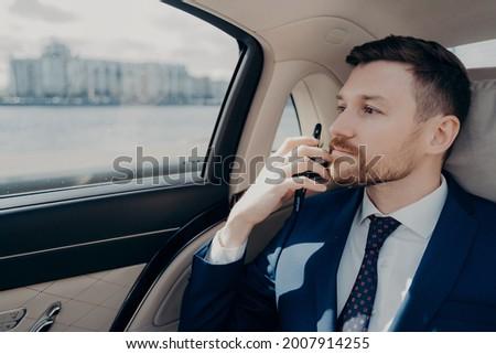 Chin-chin in the limousine Stock photo © Novic