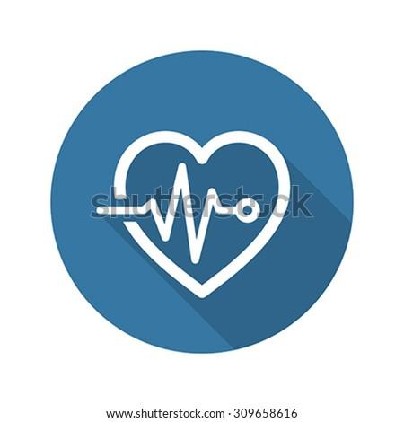 Szív törődés program orvosi szolgáltatások ikon Stock fotó © WaD