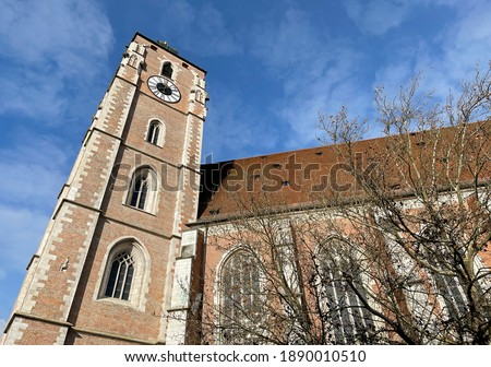 Minster of Ingolstadt Stock photo © manfredxy