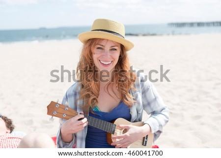 giocare · chitarra · mani · chitarra · acustica · musica · rock - foto d'archivio © is2