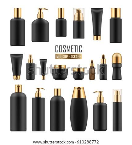 kozmetikai · üveg · reklámok · vektor · spray · krém - stock fotó © pikepicture