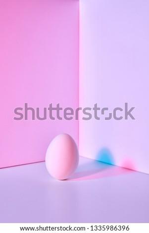 Huevo doble reflexión oscuridad copiar Foto stock © artjazz