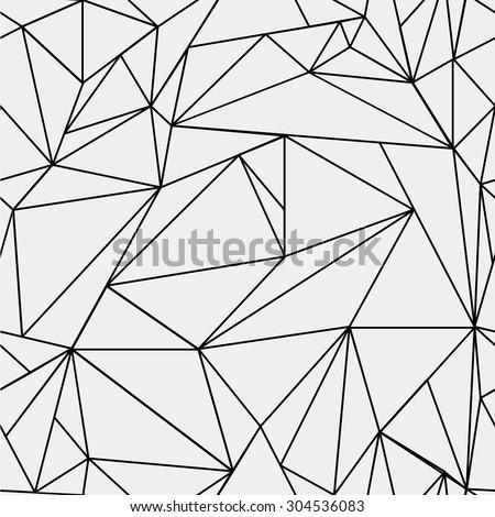 単純な シームレス 幾何学的な 三角形 パターン ストックフォト © ExpressVectors