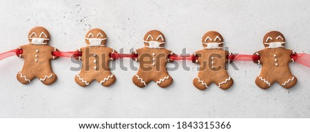 Gingerbreads for new 2020 years Stock photo © olira