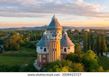Eski Budapeşte Macaristan inşaat dizayn güzellik Stok fotoğraf © jakatics