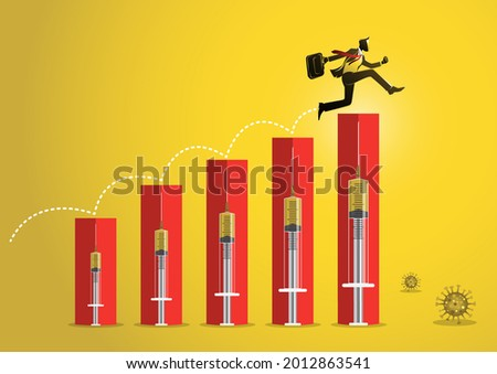 businessman and syringe finance metaphor stock photo © lunamarina