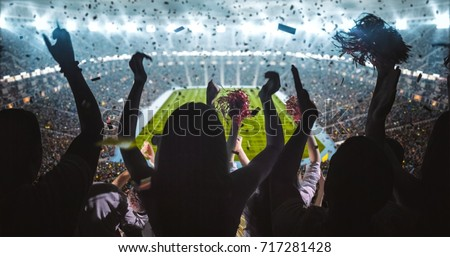 football fans stock photo © wavebreak_media