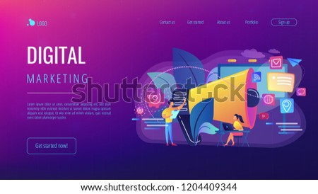 Stock photo: Infographic Layout for Marketing Concept background