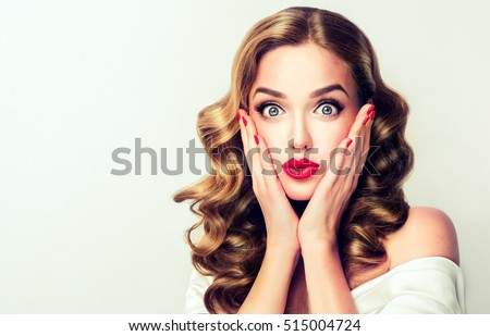 Belo vintage menina jovem caucasiano Foto stock © handmademedia