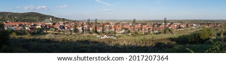 campagne · village · eau · maison - photo stock © hraska