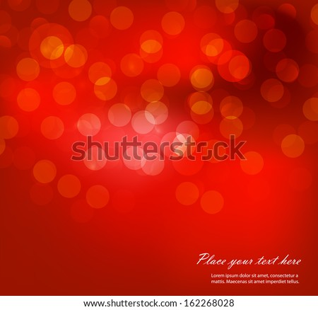 Holiday background with red bow Stock photo © fresh_5265954