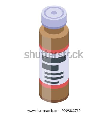 medical syringe and heart on white background isolated 3d illus stock photo © iserg