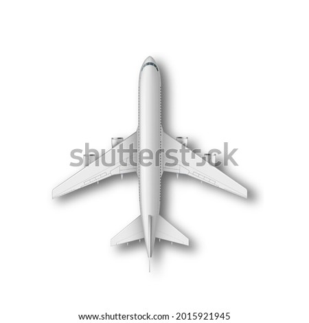 passenger aircraft isolated on bg  Stock photo © ssuaphoto