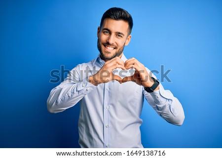 изображение случайный носить улыбаясь Сток-фото © deandrobot