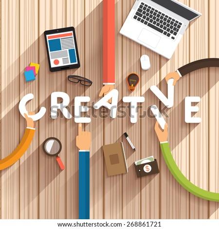 aankondiging · business · idee · jonge · kaukasisch · witte - stockfoto © makyzz