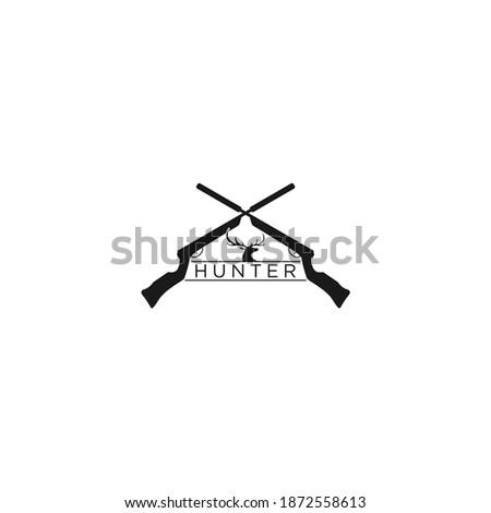 Stock photo: Hunt Gun Icon