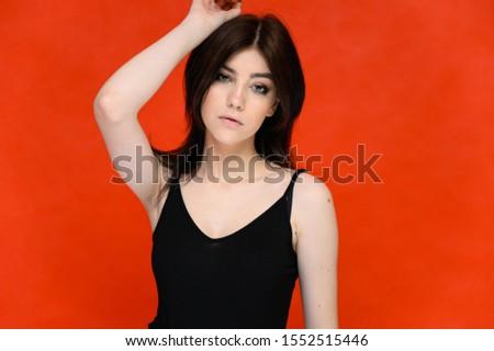 Portrait femme maquillage luxe Photo stock © ElenaBatkova