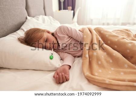 Sick Woman Feels Herself Really Bad Stock photo © leedsn