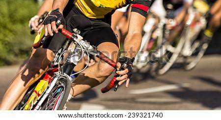 Estrada bicicleta triathlon raça ciclista corrida Foto stock © Maridav