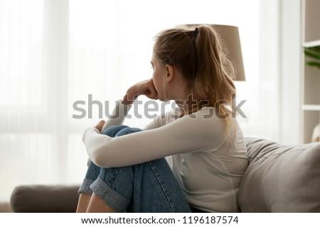 retrato · adolescente · color · adolescente - foto stock © simply