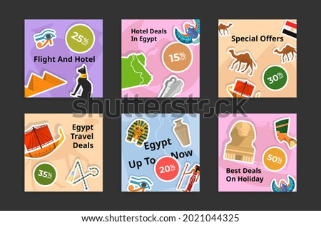 Giza Pyramid Square Poster Stock photo © benchart