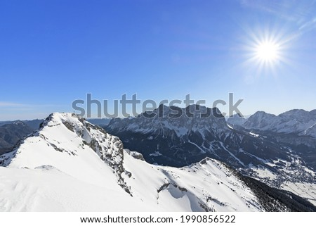 Zugspitze area Stock photo © val_th