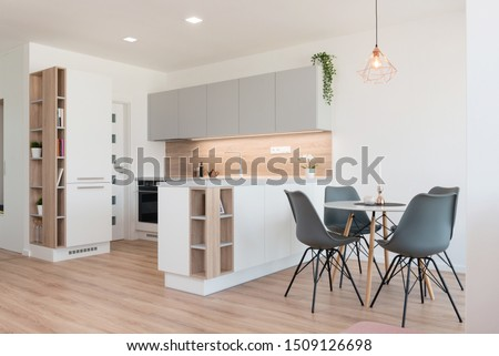 Apartment is built Stock photo © zzve