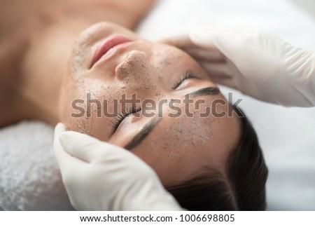belleza · piel · máscara · tratamiento · cara - foto stock © bartekwardziak
