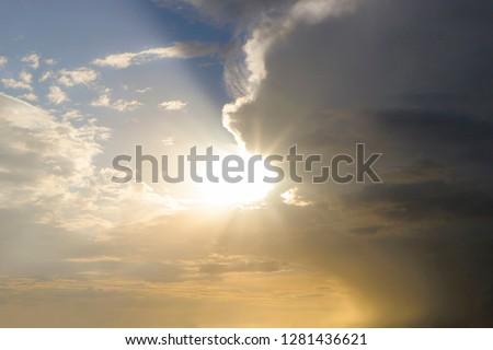 Summer landscape after a storm Stock photo © CaptureLight
