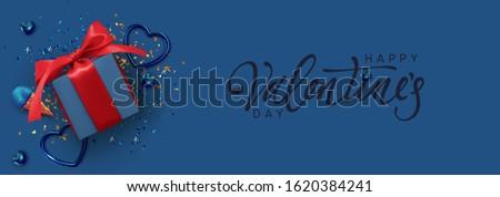 Ajándékdobozok brossúrák vektor valósághű sötét csillog Stock fotó © frimufilms
