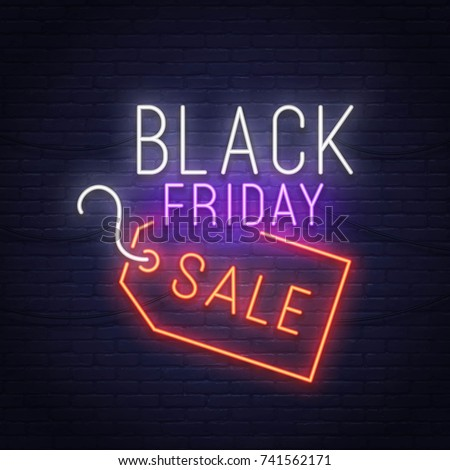 Color vintage black friday sale poster Stock fotó © netkov1