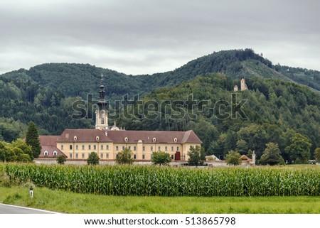 Rein Abbey, Austria Stock photo © borisb17